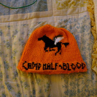 Percy Jackson Camp HalfBlood Hat by aliciasarts on Etsy
