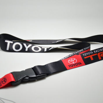 TRD  JDM Lanyard For Key/Phone w/ iLL Fresh As Fck Domo Shocker, etc Nos Turbo keychain key ring