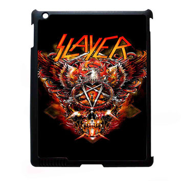 metal band slayer FOR IPAD 2/3/4 CASE *NP*
