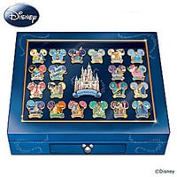 The Magical Moments Of Disney Pin Collection