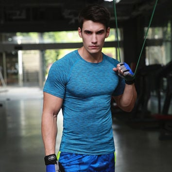 Men  Fitness Tights Tops Different Colours and Sizes