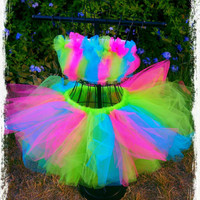Adult Tutu, rave tutu, raver tutu, neon tutu, gogo dancer, party tutu, adult costume, candy girl costume, tutu, adult tutu dress, sexy