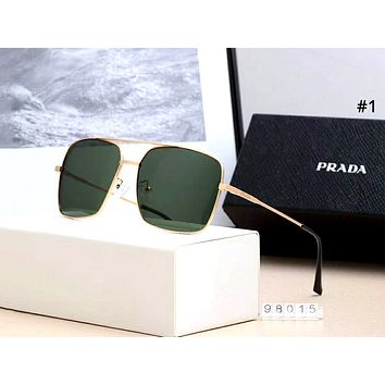 PRADA 2019 new polarized driving large frame retro sunglasses #1
