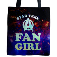 Awesome Star Trek Fan Art Print Tote Bag ( Six3 )