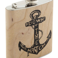 Nautical Spirited Cheers Flask by ModCloth