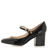 JANET Mary Janes - Black