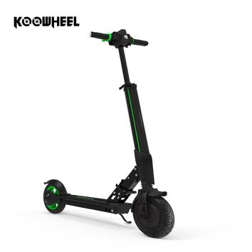 2018 Upgrade Foldable Electric Scooter Samsung Battery Kick Scooter Mini Electric Skateboard for Children Kid Adult