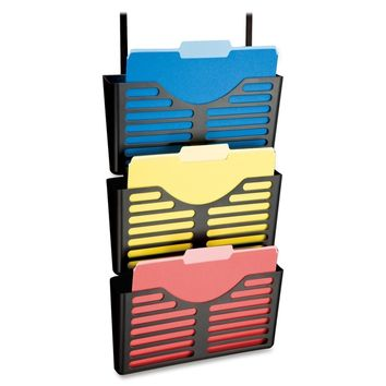 Lorell Plastic Hanging Triple Pocket File Set   Overstock.com Shopping - The Best Deals on Partition Accessories