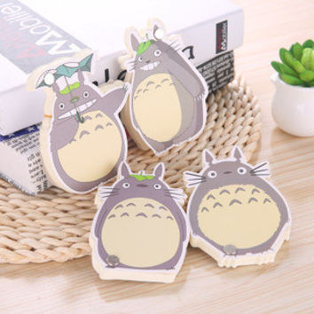 Totoro Sticky Notes/Notebook style stationary/Scrapbooking stickers/Planner Sticker/Postits,Bookmark,Totoro sticky notes, my_neighbor_totoro