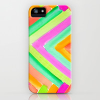 SUMMER STAYS iPhone & iPod Case by Rebecca Allen