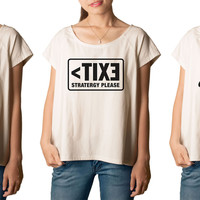 Women's Quote 1 Printed cotton T-shirt  Tee WTS_01