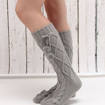Hot Sale Ladies Knit Socks [110448246809]