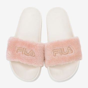 """Fila"" Rihanna Fenty Leadcat Fur Slipper Shoes"