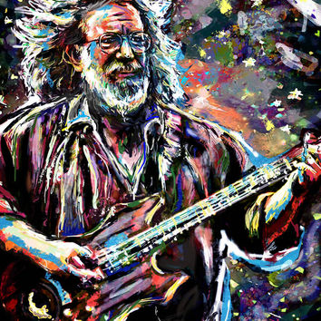 Jerry Garcia Art - Grateful Dead
