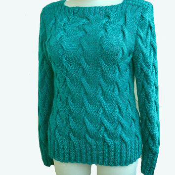 Crocheted sweater-tunic made to order, crochet handmade