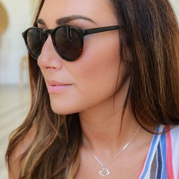 Catch A Wave Sunglasses-Tortoise Ombre