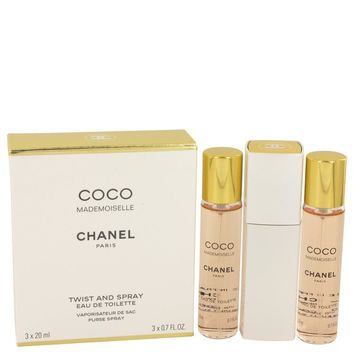 COCO MADEMOISELLE by Chanel Mini EDT Spray 3 x.7 oz