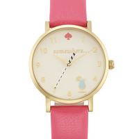 Kate Spade Happy Hour Metro Flamingo Pink ONE