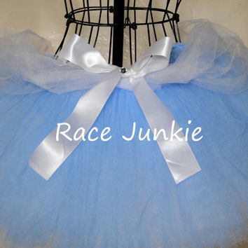 Cinderella Disney Princess Running Tutu. Blue and by RaceJunkie