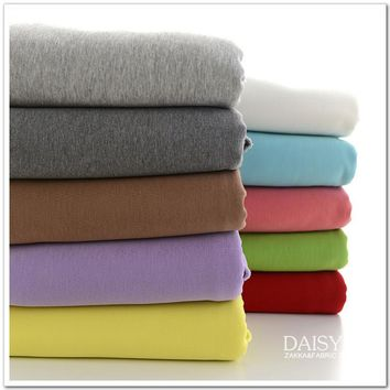 50*170cm  cotton knitted flannel cashmere  baby clothing making fabric DIY  autumn and winter clothing cotton fabric