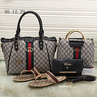 GUCCI 2018 Tide brand fashion women high-quality fashion four sets F-KSPJ-BBDL black