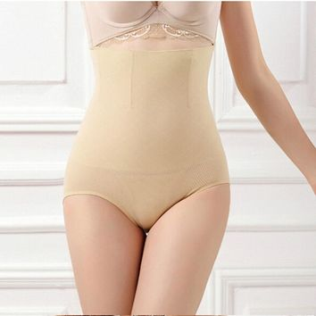 New Women Tummy Control Shorts High Waist Body Shapers Briefs Panties Knickers 16he