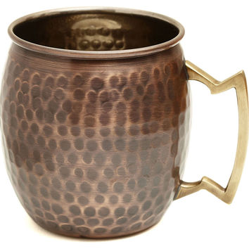 Hammered Antiqued Moscow Mule, 16 Oz, Moscow Mule Mugs