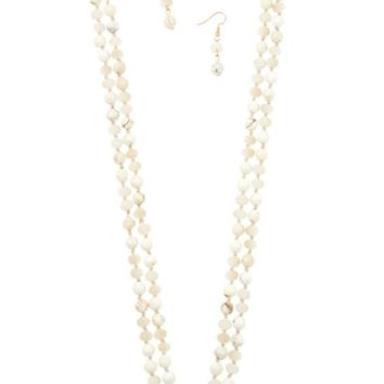 Precious Bead Necklace Set