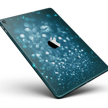 "Unfocused Blue Glowing Orbs of Light Full Body Skin for the iPad Pro (12.9"" or 9.7"" available)"