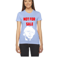 not for sale bernie sanders - Women's Tee