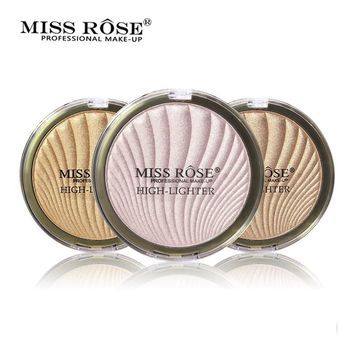 MISS ROSE Shimmer Brighten Highlighter Powder Bronzer Prominent Side Profile Highlight Palette Face illuminator Contour Makeup