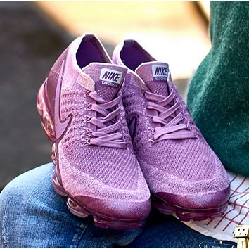 Nike Air VaporMax Trending Women Sport Casual Sneakers Running Shoes Purple G-XYXY-FTQ