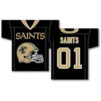 New Orleans Saints NFL Jersey Design 2-Sided 34 x 30 Banner