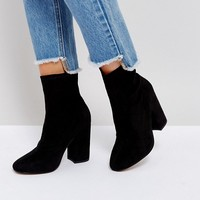 ASOS ELABORATE Sock Boots at asos.com