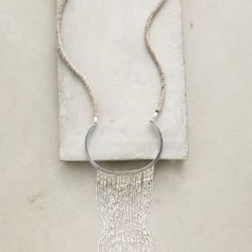Selene Necklace by Anthropologie in Silver Size: One Size Necklaces