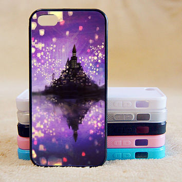 Tangled,Castle, iPhone 4/4s/5/5s/5C, Samsung Galaxy S2/S3/S4/S5/Note 2/3, Htc One S/M7/M8, Moto G/X