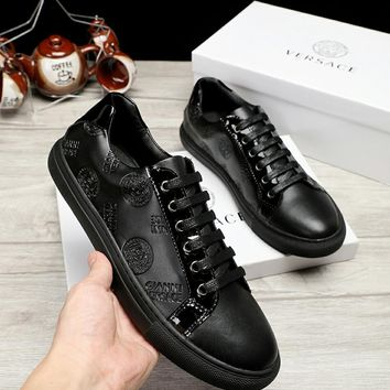 Versace Men New Fashion Casual Shoes Sneaker Sport Running Shoes