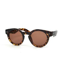 Classic Retro Sunnies: Tortoise-Brown