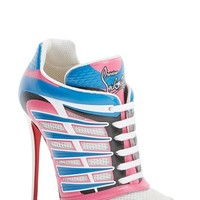 Women's Christian Louboutin 'Boltina' Lace-Up Bootie,