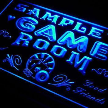 Personalized Man Cave Game Room LED Neon Light Sign