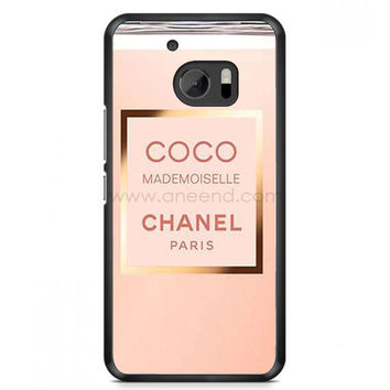 Coco Chanel Perfume Quotes Mademoiselle HTC One M10 Case  | Aneend.com
