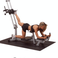 Body Solid Powerline Glute Max