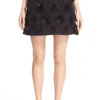 NICOPANDA Faux Fur Dot Skirt | Nordstrom