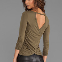 WOODLEIGH Mina Top in Khaki from REVOLVEclothing.com
