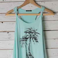 Macee Palm Tree Tank