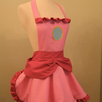 Princess Peach Apron
