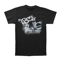 My Chemical Romance Men's  Girls Face 2 T-shirt Black