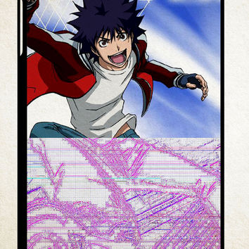 Air Gear Anime Z0989 iPad 2 3 4, iPad Mini 1 2 3, iPad Air 1 2 , Galaxy Tab 1 2 3, Galaxy Note 8.0 Cases