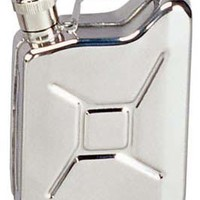 Jerry Can Flask - Stainless Steel Novelty Flasks