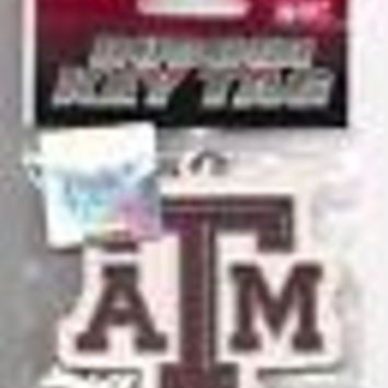 Texas A&M Aggies Keychain Laser Cut Rubber Key Tag
